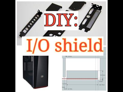 How To: Make A  DIY IO Shield For A Desktop PC