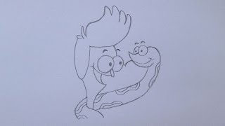 Como desenhar Sanjay e Craig