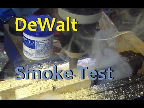 BOLTR: DeWalt Hammer Drill. Test, tune and Electrical