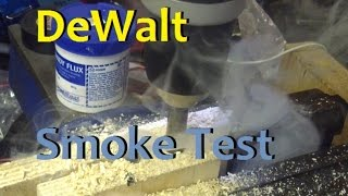 boltr dewalt hammer drill test tune and electrical