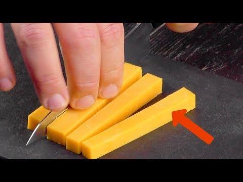 チーズを太く4本に切ったら…