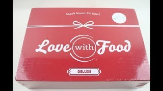 "Love with Food Box January 2019 ""Deluxe"" Unboxing + Coupons #lovewithfood"