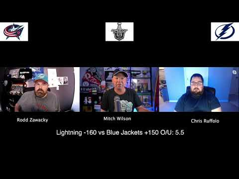 Tampa Bay Lightning vs Columbus Blue Jackets 8/11/20 NHL Pick and Prediction Stanley Cup Playoffs