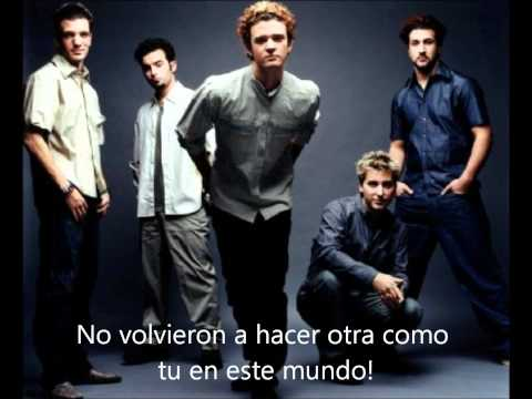 God Must Have Spent A Little More Time On You- Nsync (Español)