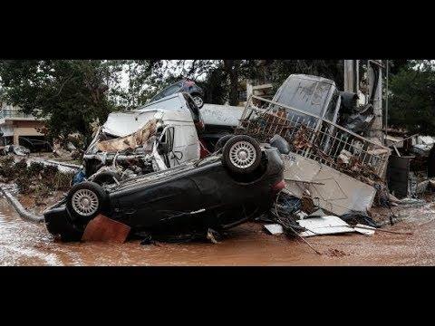 Starker Regen: Mehrere Tote bei Überschwemmungen in Griechenland