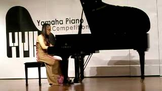 Yamaha Piano Competition Regional Stage, June 8, 2015