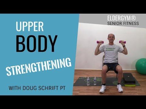 Upper Body Exercises for Seniors and the Elderly, Strength training for seniors,