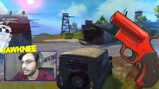 FLARE IN SPAWN ISLAND | PUBG MOBILE HIGHLIGHTS | RAWKNEE
