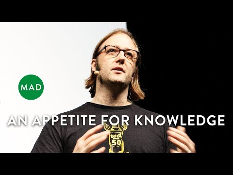 Wylie Dufresne at MAD2: An Appetite for Knowledge - YouTube