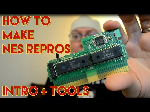 How To Make Nintendo NES Repros - Tools Needed