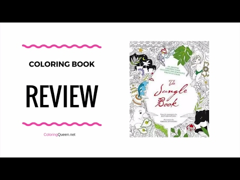 The Jungle Book - Coloring Book Review - Fabiana Attanasio