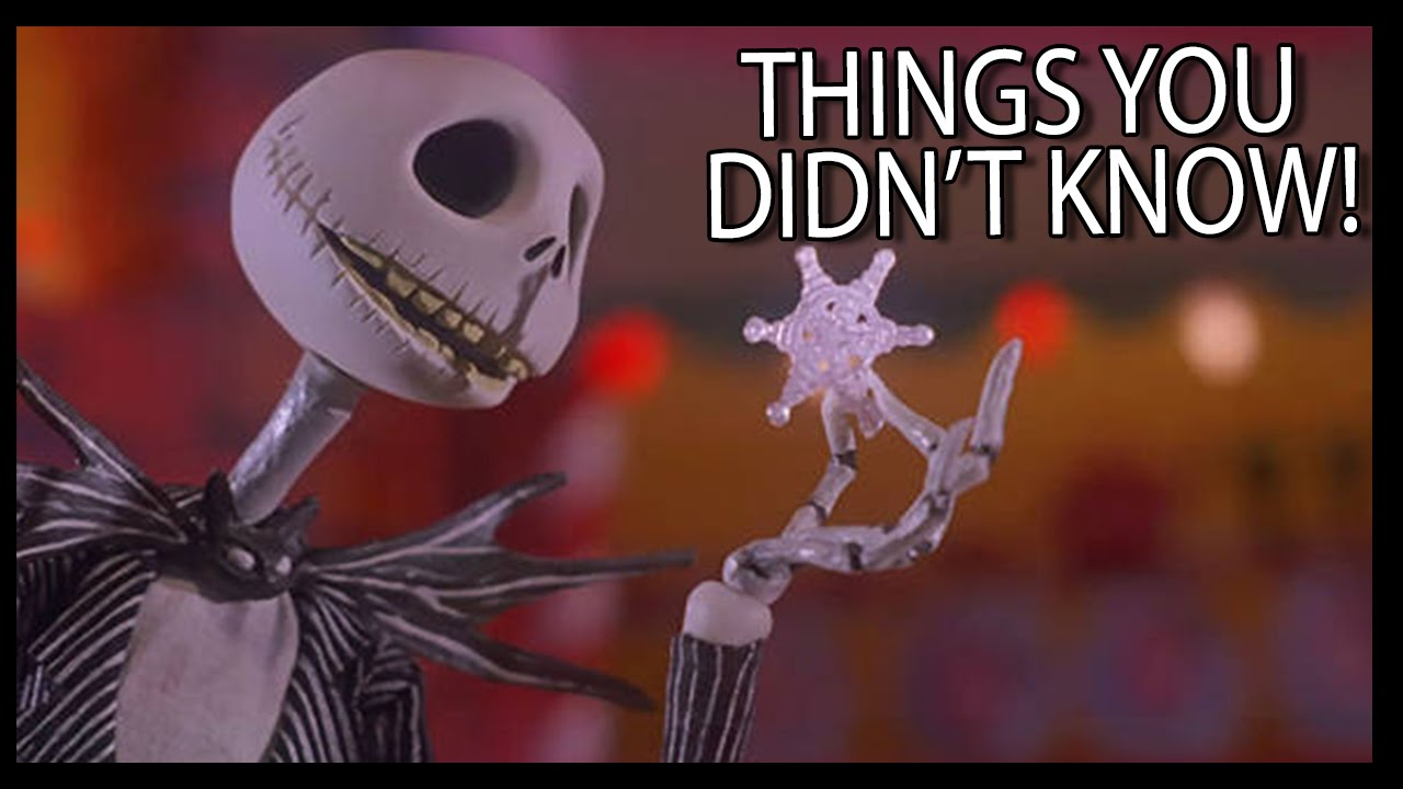 7 Things You (Probably) Didn\'t Know About The Nightmare Before ...