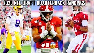 2020 NFL Mock Draft 3.0: Quarterback Rankings