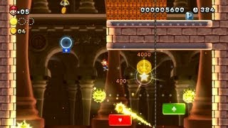 New Super Mario Bros. U -- Boost Your Way to Bowser in Red-Hot Elevator Ride
