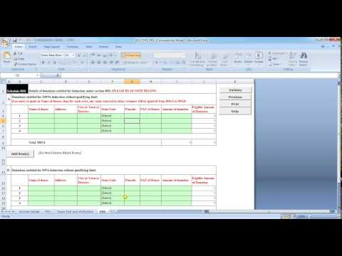 How to file Income tax returnITR1 2015 2016 through excel utility in hindi