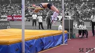 Korkeushypyn naisten Suomen ennätys 193 cm   Linda Sandblom 25.6.16  