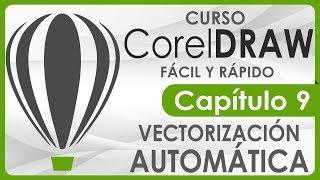 Curso CorelDRAW - Capitulo 9, Vectorización Automática y por colores