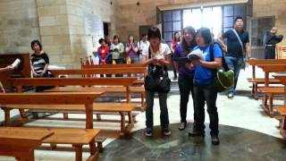 What A Friend We Have In Jesus - At The Santuary of Bethany, Church of Lazarus