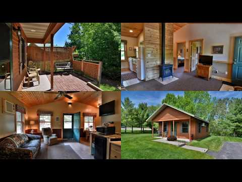 Bayfield, Wisconsin Lodging   Woodside Cottages of Bayfield   Vacation Cabins