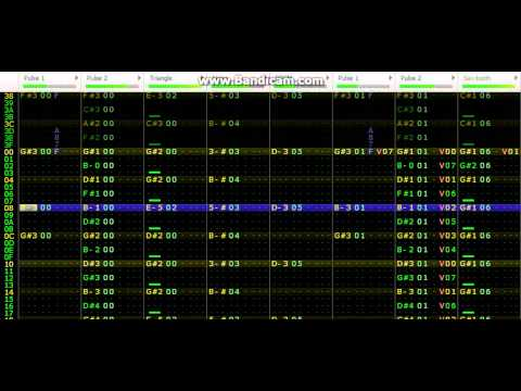 Concrete Man VRC6 Remix (Famitracker)