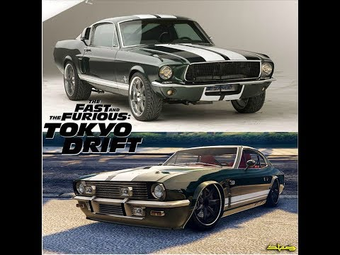 Tokyo drift Sean's mustang | GTA 5 online rapid gt3 paint job | tokyo drift cars