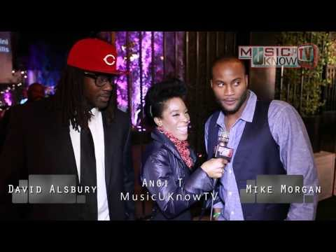 NFL Players Mike Morgan & David Ausberry Interview w/Angi T