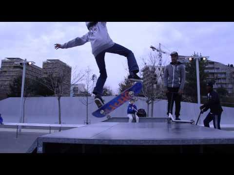 Skate park Bercy/Batignolles HD 1080p