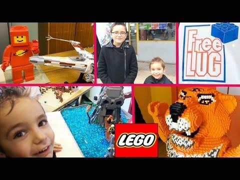 VLOG - Exposition LEGO Free Lug - Lego exhibition