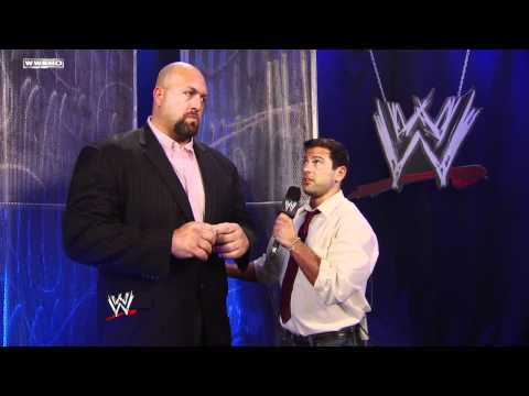 SmackDown: Mark Henry attacks Big Show during an interview