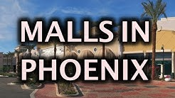 Top Malls in Phoenix Arizona Metro