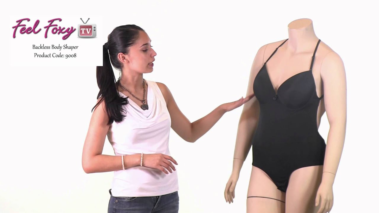 8c8b714dc Feel Foxy Backless Body Shaper - YouTube