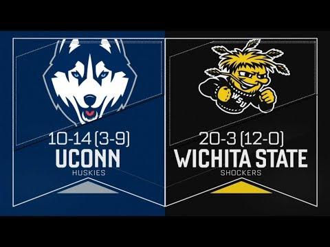 Wichita State Volleyball WSU vs UConn
