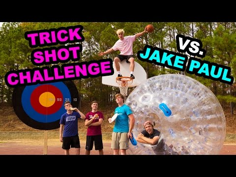 Trick Shot Gauntlet Challenge w/ Jake Paul!