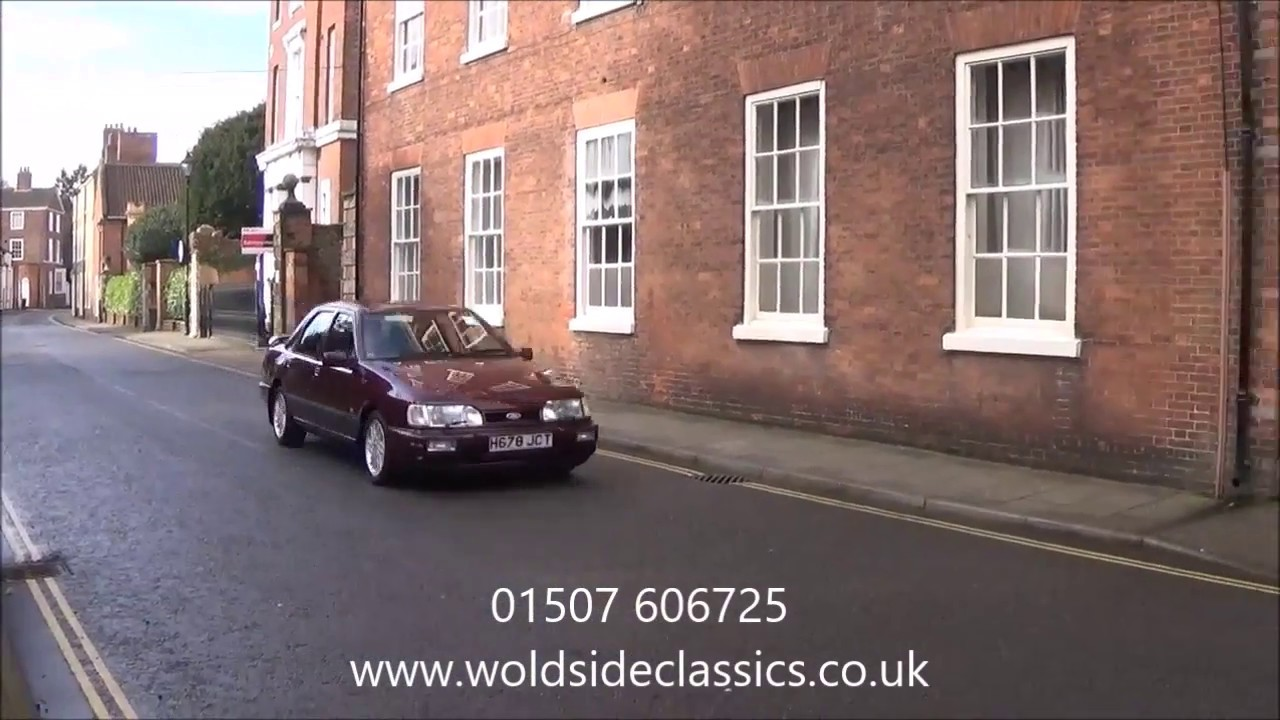 SOLD - 1991 Ford Sierra RS Sapphire Cosworth 4x4 Fors Sale in Louth,  Lincolnshire