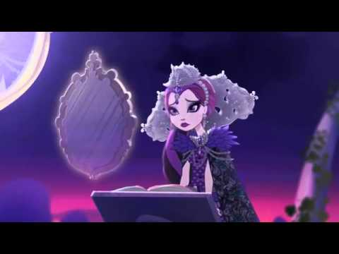 Ever After High-Raven's future in story book of legends