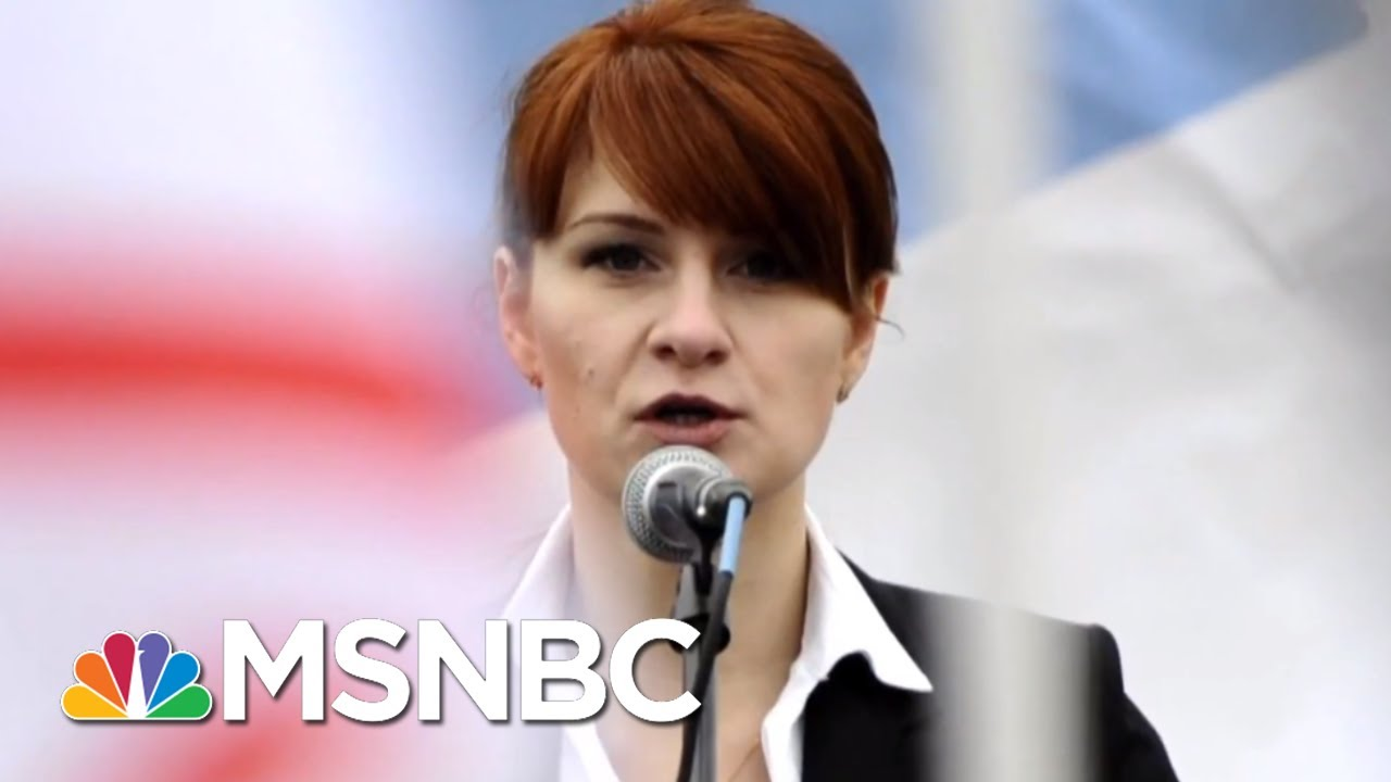 Feds: NRA-Linked Russian Was A Spy Offering Sex To Gain Access | The 11th Hour | MSNBC