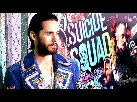 Jared Leto's Joker Laugh in Suicide Squade 'Is Very Strange' - World Premiere