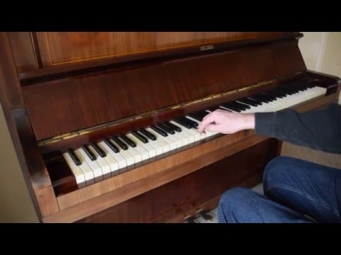 Bechstein piano for sale  demo - all notes