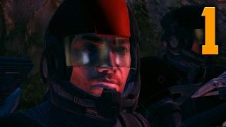 "Mass Effect 1 Gameplay Walkthrough - Part 1 ""HOSTILES EVERYWHERE"" (Let's Play/Playthrough)"