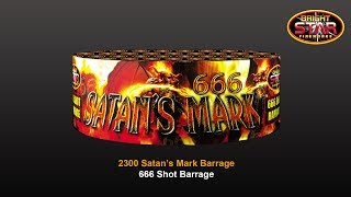 Bright Star Fireworks - 2300 Satan