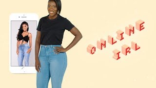 This Is What 7 Pairs of Fashion Nova Jeans Look Like In Real Life | Online, IRL | ELLE