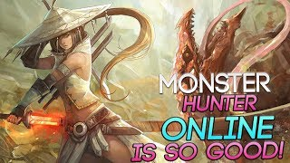 Monster Hunter Online - This MMORPG Is AMAZING Fun! .. And Deadly! ಥ_ಥ