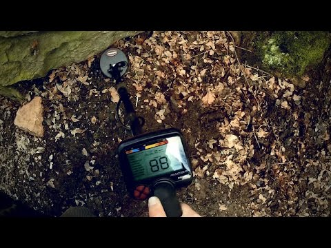 "Metal Detecting With The Makro Racer And The 5x4.5"" Coil (Real World Test)"