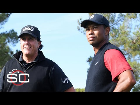 Tiger Woods, Phil Mickelson, Tom Brady And Peyton Manning To Have Golf Match | SportsCenter