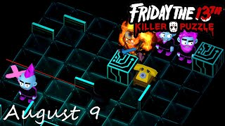 Friday the 13th Killer Puzzle Daily Death August 9 2020 Walkthrough