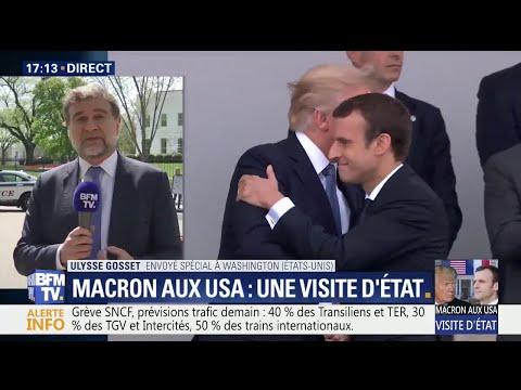 Macron à Washington : pourquoi cette visite d'État est-elle symbolique ?