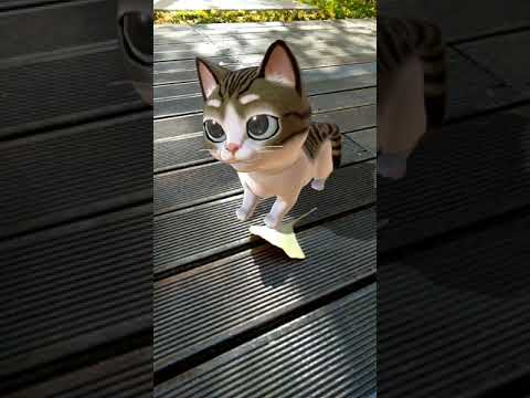 Meow! AR Cat - ARCore Demo