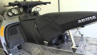 Skinz Light weight seat for my 700 Mod Ski-doo! PowerModz.com
