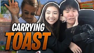 HE WANTS ME TO SPRINKLE SALT ON HIM?? FT. DISGUISEDTOASTHS | XCHOCOBARS FORTNITE