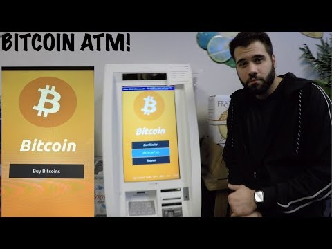 The First Bitcoin ATM In Maryland??? We Purchased Some Bitcoin!